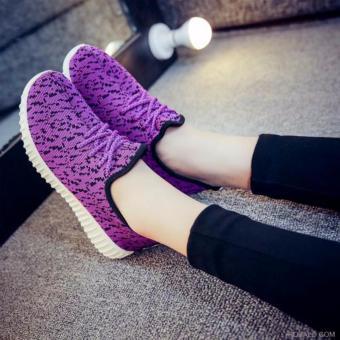 Giày Sneaker thể thao nữ Sportmax SPW905626VBL - Màu tím đen