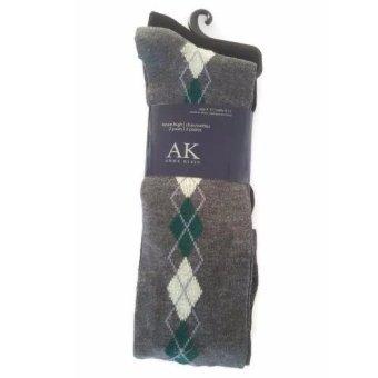 Bộ 2 đôi tất (vớ) nữ Anne Klein Women's 2 Pack Side Argyle Knee High Socks (Mỹ)