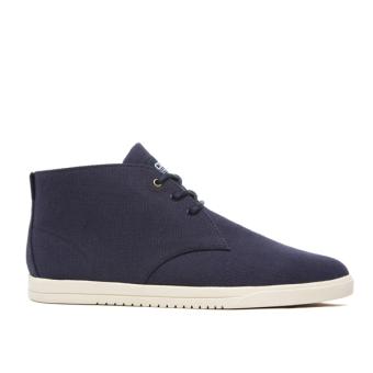 Giày Sneaker nam Cổ Cao Clae Strayhorn Textile (Cla01274) (Xanh Navy)