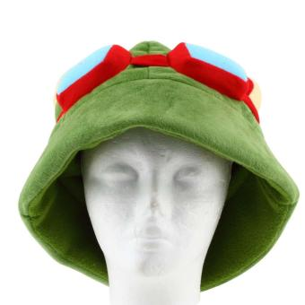 OH LOL league of legends Teemo One Size Cosplay Party Warm Hat Army Green New - Intl - intl