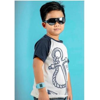 Áo thun bé trai Ugether UKID104 (Trắng)