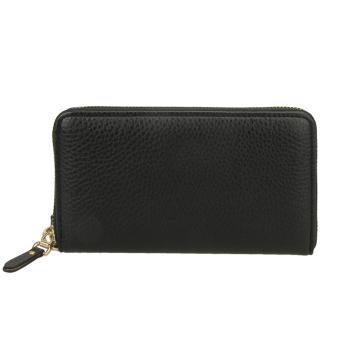 Fashion PU Long Leather Wallet Men Card Holder Clutch Handbag (Black) - intl