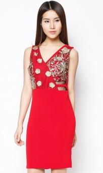 Đầm ôm đính kim sa Bui Nguyen DP305
