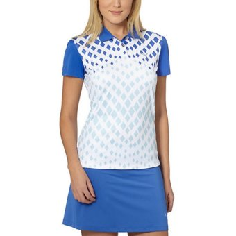 Áo Polo Nữ Diamond Graphic Golf Polo Shirt