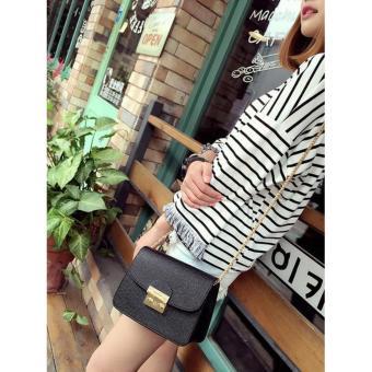 Túi xách đeo vai thời trang màu Đen TX0002