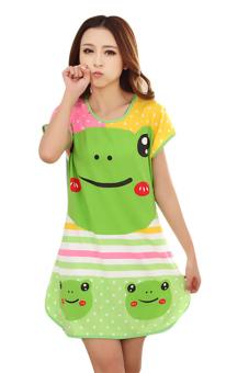 Đầm ngủ nữ Huy Kiệt TT63 (Xanh)