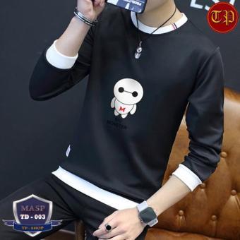 Áo thun nam dài tay vải Tixi TD-003