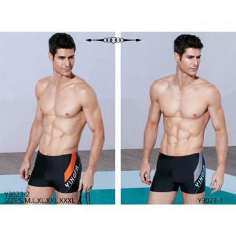 Quần bơi Yingfa đen Y3023-1 (vát ghi)