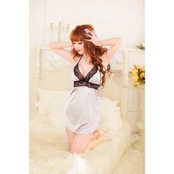Mua Đầm ngủ yếm thun mát phối ren ngực Chodeal24h (kem) giá tốt nhất