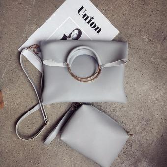 Bộ túi xách nữ đa năng phong cách Botusi-SKV04(xám nhạt)