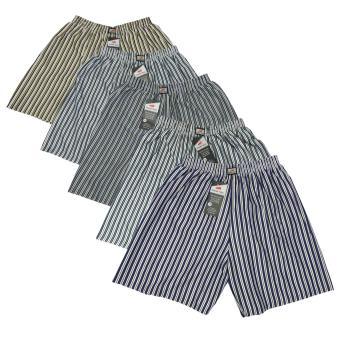 Quần đùi nam mặc nhà phối sọc VFSHORTS 0227 (Size 7)