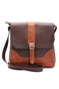 Túi đeo chéo LATA IP01 (Da nâu)