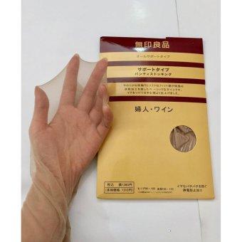 Bộ 3 quần tất (vớ) nữ Nhật Bản MNB161A (da, đen)