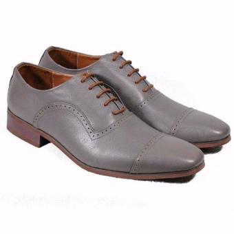 Giày tây cột dây Tathanium Footwear TFLGTGYU0046 (Xám)