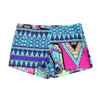 OH Summer Retro Sexy Women High Waist Shorts Floral Print Beach Gym Shorts Pants S - Intl - intl