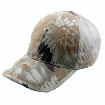 Fashion Snake Skin Style Sport Camouflage Cap Baseball Hat Mountain Color - intl
