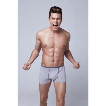 Combo 2 quần lót nam viền màu dạng đùi (size XXL)