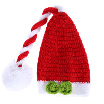 Baby Handmade Crochet Hat Red (Intl)