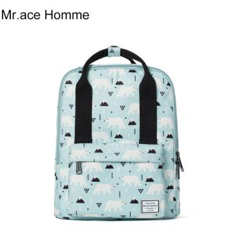 Balo Thời Trang Mr.ace Homme MR16B0326B01 / Xanh da trời