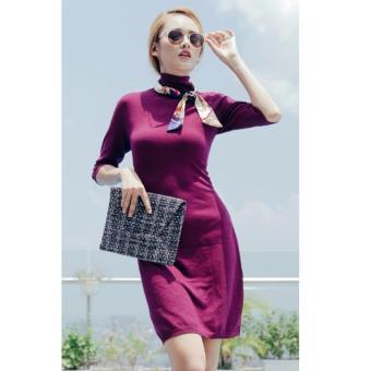 Đầm len TEZENIS thời trang - VIOLET