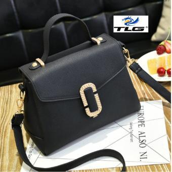 Túi nữ thời trang phong cách sang trọng Đồ Da Thành Long TLG 208084-2(đen)