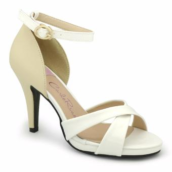 Sandal cao gót Carlo Rino 333040-085-01 (màu trắng)