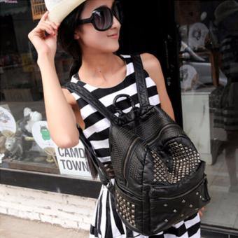 Balo da thời trang phong cách Minh Tinh JLD044 (Đen) - 2792151