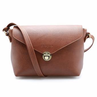Túi đeo chéo nữ PAPA PPT005 (Bò đậm)