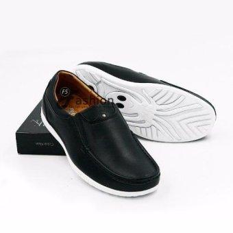 Giày Mọi Nam Da Thật GM260 (Đen)