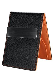 Cyber Men Mini Money Wallet Orange - Intl