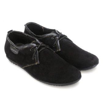 Giày thể thao Huy Hoàng cột dây (Đen)