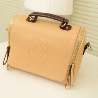 New Retro British Style Female Handbag Package Women Shoulder Slope Across Bag 7 Colors - intl