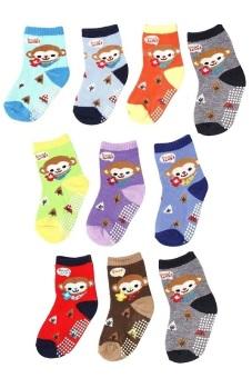 Bộ 10 đôi tất vớ trẻ em từ 5-8 tuổi bé trai SoYoung 10SOCKS 003 5T8 BOY