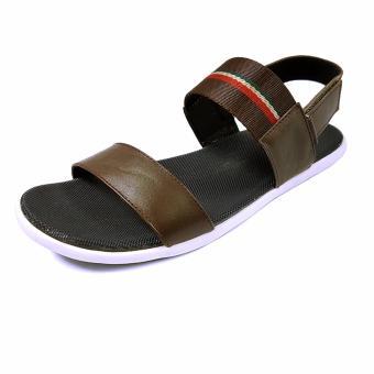 Sandals Quai Ngang Nam Ensado DE12 (Nâu)