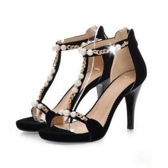 Giày cao gót đính ngọc trai CGNT11954
