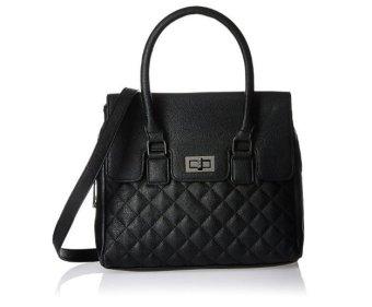 Túi xách tay & đeo vai Đen nữ Madden Girl Cooper Satchel Shoulder Bag (Mỹ)