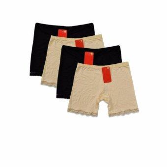 Bộ sản phẩm 4 quần ôm sát mặc trong váy co giãn Dma store