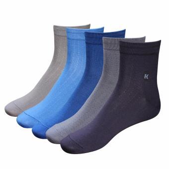 Combo 5 đôi tất vớ nam Cotton công sở Donakein- High quality products of Vietnam