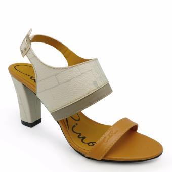 Sandal cao gót Carlo Rino 333040-089-21 (màu be)