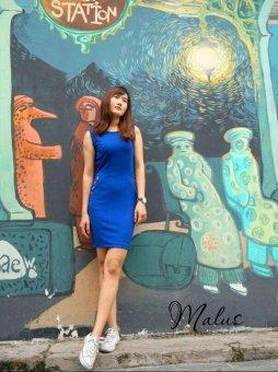 Đầm bodycon Xavia Clothes Malus (Xanh)