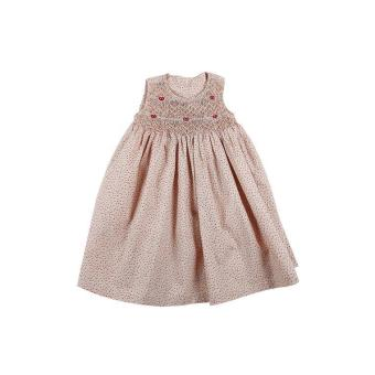 Liti - Đầm Bé Gái Thêu Xích Móc