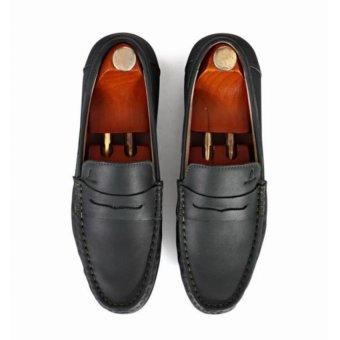 Giày mọi Alessandro Luigi LG92-66 (Xanh bộ đội)