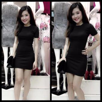 Đầm Suông Body (Đen)