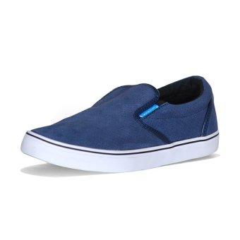 Giày lười Slipon nam QuickFree Lightly Suede M150203-F08 (Xanh navy) cung cấp bởi QuickFree