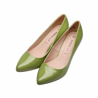 Giày Bít Nữ 5p Mũi Nhọn Moonlly