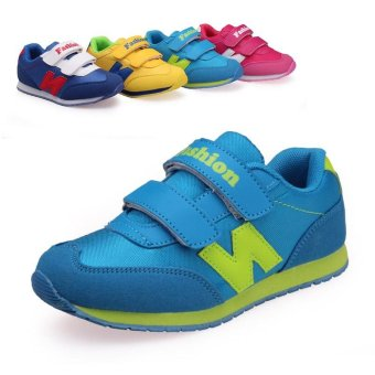 Size 26-38 Children's Fashion Shoes Sports Shoes Casual Shoes Walking Shoes Sneakers Elastic Shoes - intl
