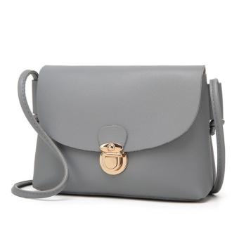 Túi xách thời trang đeo chéo (màu ghi nhạt)