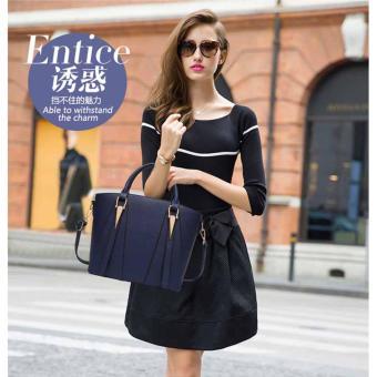 Túi xách thời trang nữ dễ thương TM034 (Xanh đen)