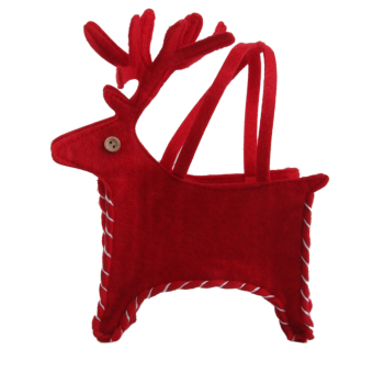 BolehDeals Christmas Holiday Elk Deer Tote Gift Bag Candy Bag - Intl
