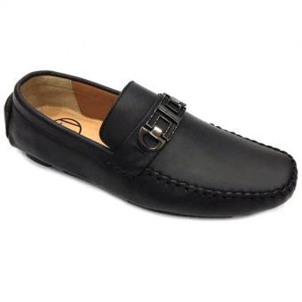 Giày lười da thật nam Everest D80